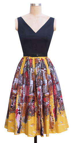 The Walk in the Park Dress