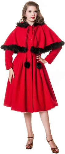 Gretel Coat red
