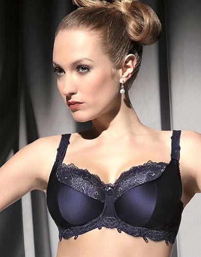 Full Bust Lingerie Review  The Selena Bra Balconette by Kris Line f0da31c81