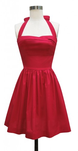 Trixie Mini Dress in Red