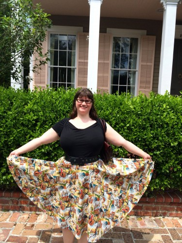 Betty Le Bonbon custom skirt