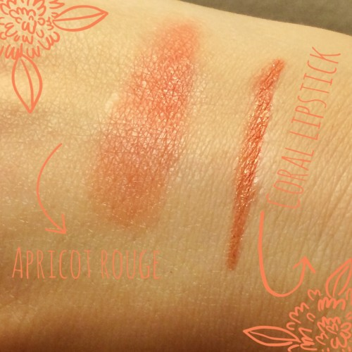 Apricot Rouge and Coral Lipstick by Besame