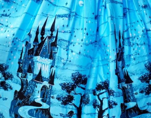 Aurora Dress in Castle Print