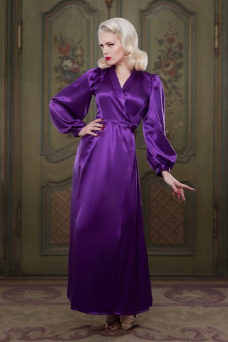 AW1415-Heather-Bettie-Silk-Robe-Betty-Blues-Loungerie1