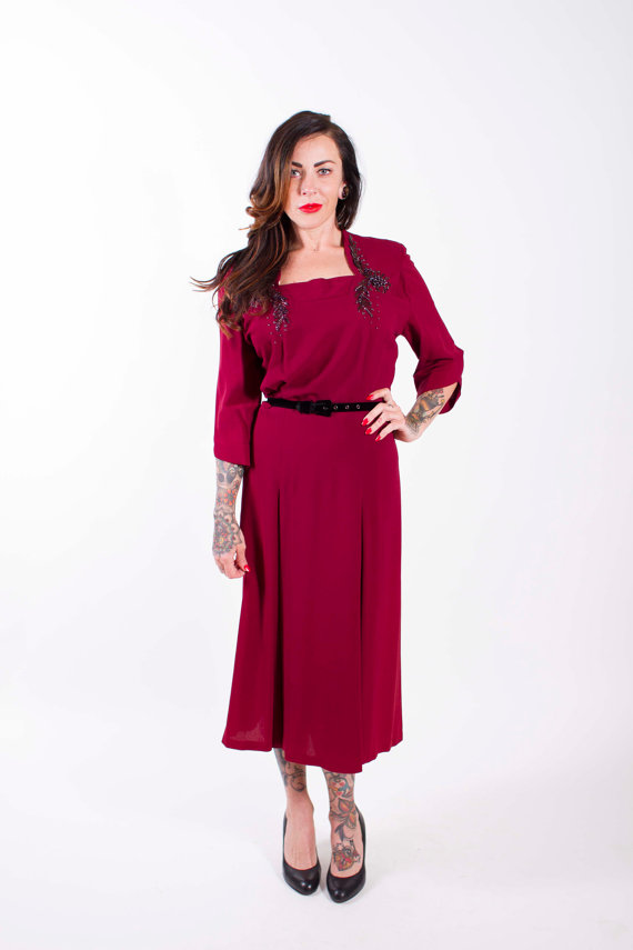 9 Plus Size Formal Gowns From The 1940s The Full Figured Chest