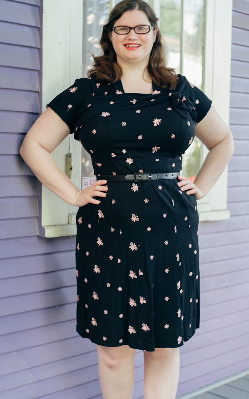 My Plus Size Vintage Dress Adventure, Part One: My Brush with 1940\'s ...
