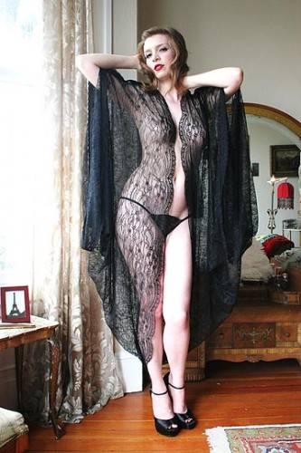 French Quarter Robe by Dollhouse Bettie