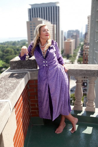 Cynthia Breakfast Robe by Maddy James