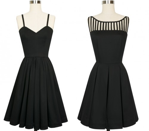 Black Dresses via Trashy Diva