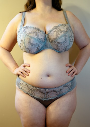 Grey Samanta Bra