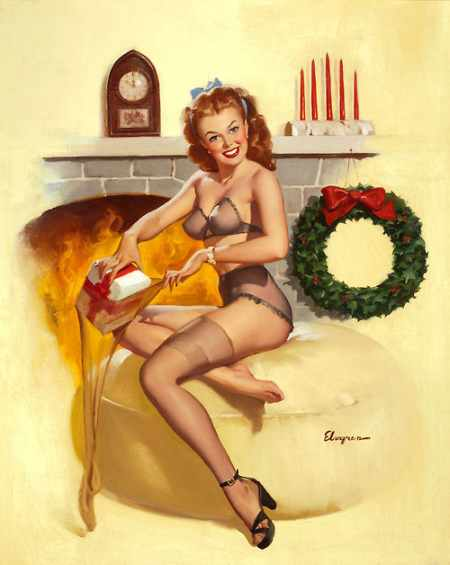gil-elvgren-christmas-pin-up-in-stockings-lingerie