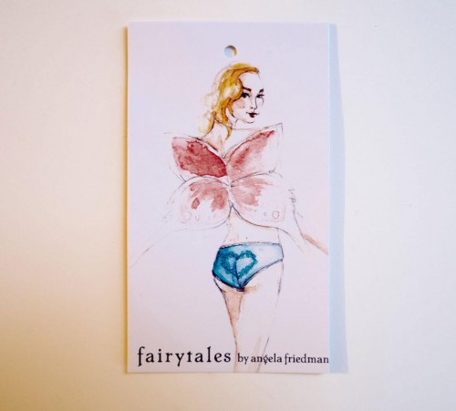 Pretty pretty tag from the Fairytales line!