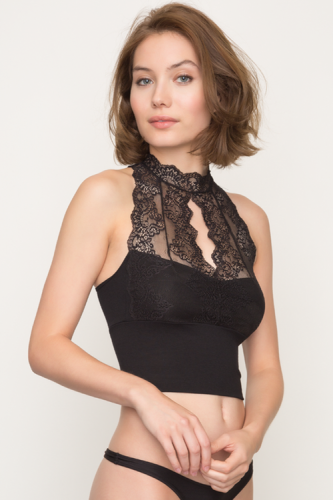 So Fine with Lace Halter