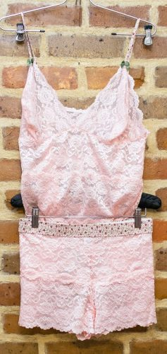 Foxers Camisole and Lace Boxers